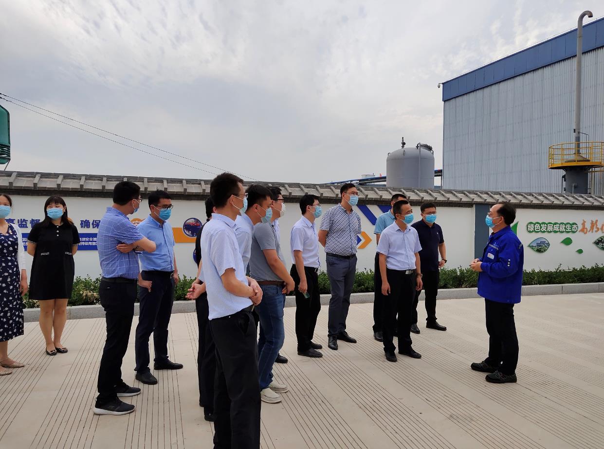 淄川区委办公室一行到我公司参观考察87