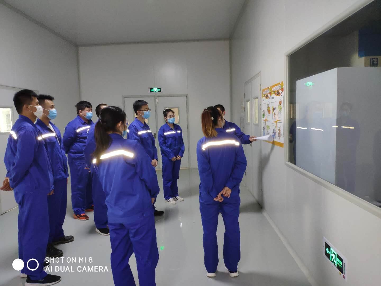 """[""""安全月""""活动系列报道]氟碳电池项目部组织开展安全培训86"""