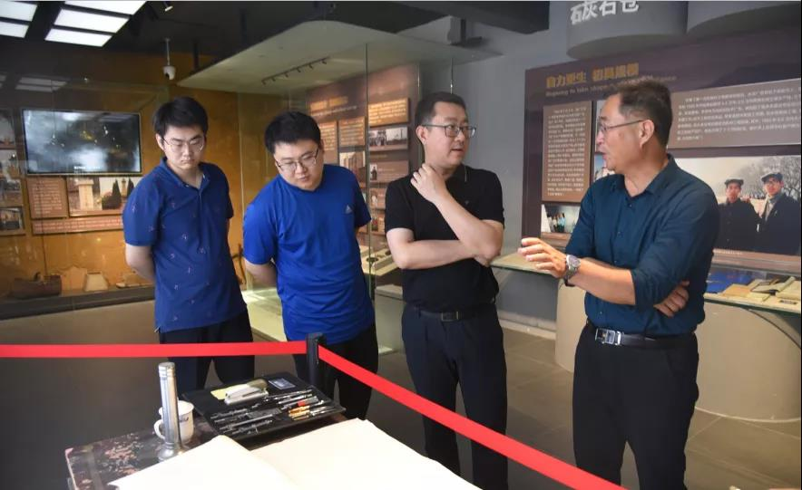 山东高速材料技术开发集团到集团参观考察52